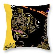 J Dilla Full Color Throw Pillow
