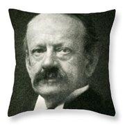 J. J. Thomson, English Physicist Throw Pillow