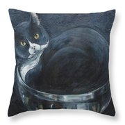 Jack-in-the-bowl Throw Pillow