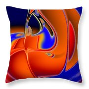 Jack In The Bean Throw Pillow