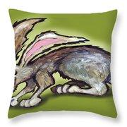 Jack Rabbit Throw Pillow
