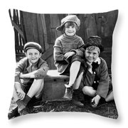 Jackie Cooper Throw Pillow