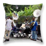 Jackson Square Sound Throw Pillow