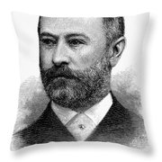 Jacob Henry Schiff Throw Pillow