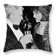 Jacqueline Kennedy Onassis Throw Pillow