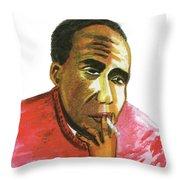 Jacques Roumain Throw Pillow