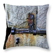 Jail Bolt Throw Pillow