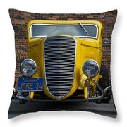 Jake's '34 Throw Pillow