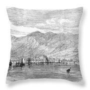 Jamaica: Kingston, 1865 Throw Pillow by Granger