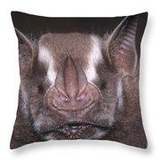 Jamaican Fruit Bat Throw Pillow