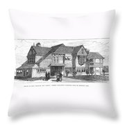 James A. Garfield Throw Pillow