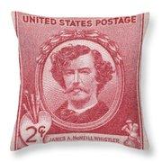 James A. Mcneill Whistler Throw Pillow