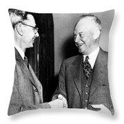 James Bryant Conant Throw Pillow