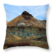James Cant Hoodoos Throw Pillow