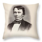 James Chesnut (1815-1885) Throw Pillow