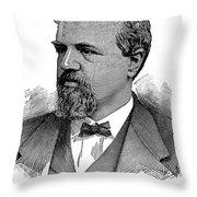 James Clair Flood (1826-1889) Throw Pillow