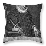 James Crichton (1560-1582) Throw Pillow
