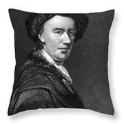 James Ferguson (1710-1776) Throw Pillow