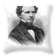 James Miller Mckim Throw Pillow
