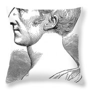 James Smithson (1765-1829) Throw Pillow by Granger
