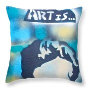 James The Dean Throw Pillow