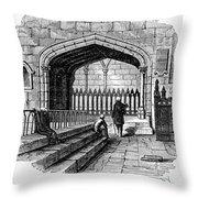 James Watt: Tomb, 1819 Throw Pillow