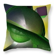 jammer Quantum View Throw Pillow