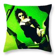 Jane Joker 3-2 Throw Pillow