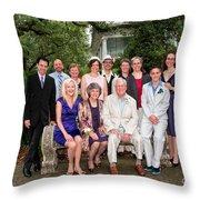 Janniv040 Throw Pillow