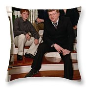 Janniv067 Throw Pillow