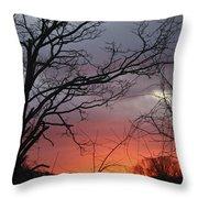 January Sunrise 4 Throw Pillow