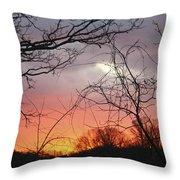 January Sunrise 5 Throw Pillow