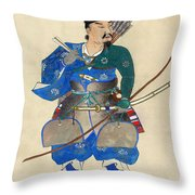 Japan: Archery Throw Pillow