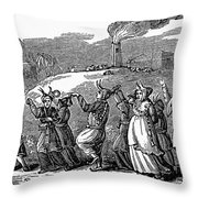 Japan: Festival Throw Pillow