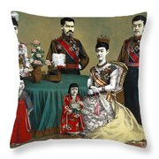 Japan: Imperial Family Throw Pillow