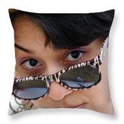 Jasmin Star Throw Pillow