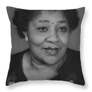 Javonia Lester Daughter Of Robert Lester Throw Pillow