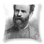 Jay Gould (1836-1892) Throw Pillow