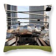 Jay Pritzker Pavillion - 1 Throw Pillow