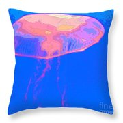 Jazzy Jelly Throw Pillow