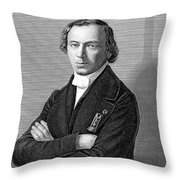 Jean Baptiste Andr� Dumas Throw Pillow
