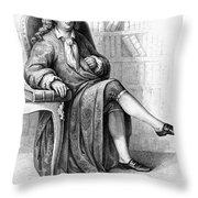 Jean Baptiste Rousseau Throw Pillow