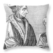 Jean Fernel, French Physician Throw Pillow
