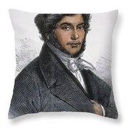 Jean-francois Champollion Throw Pillow
