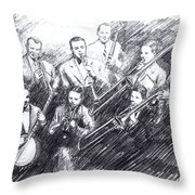 Jean Goldkette Orchestra 1926 Throw Pillow