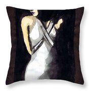 Jean Harlow 2 Throw Pillow