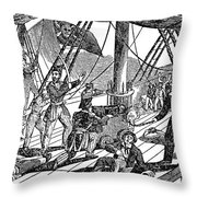 Jean Laffite (1780-1826) Throw Pillow