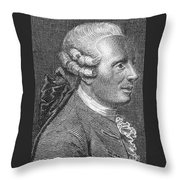Jean Le Rond Dalembert, French Polymath Throw Pillow
