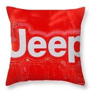 Throw Pillows Kmart : Jeep Emblem Photograph by Lloyd Alexander