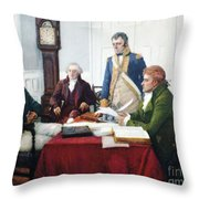 Jefferson & Dupont, 1801 Throw Pillow by Granger